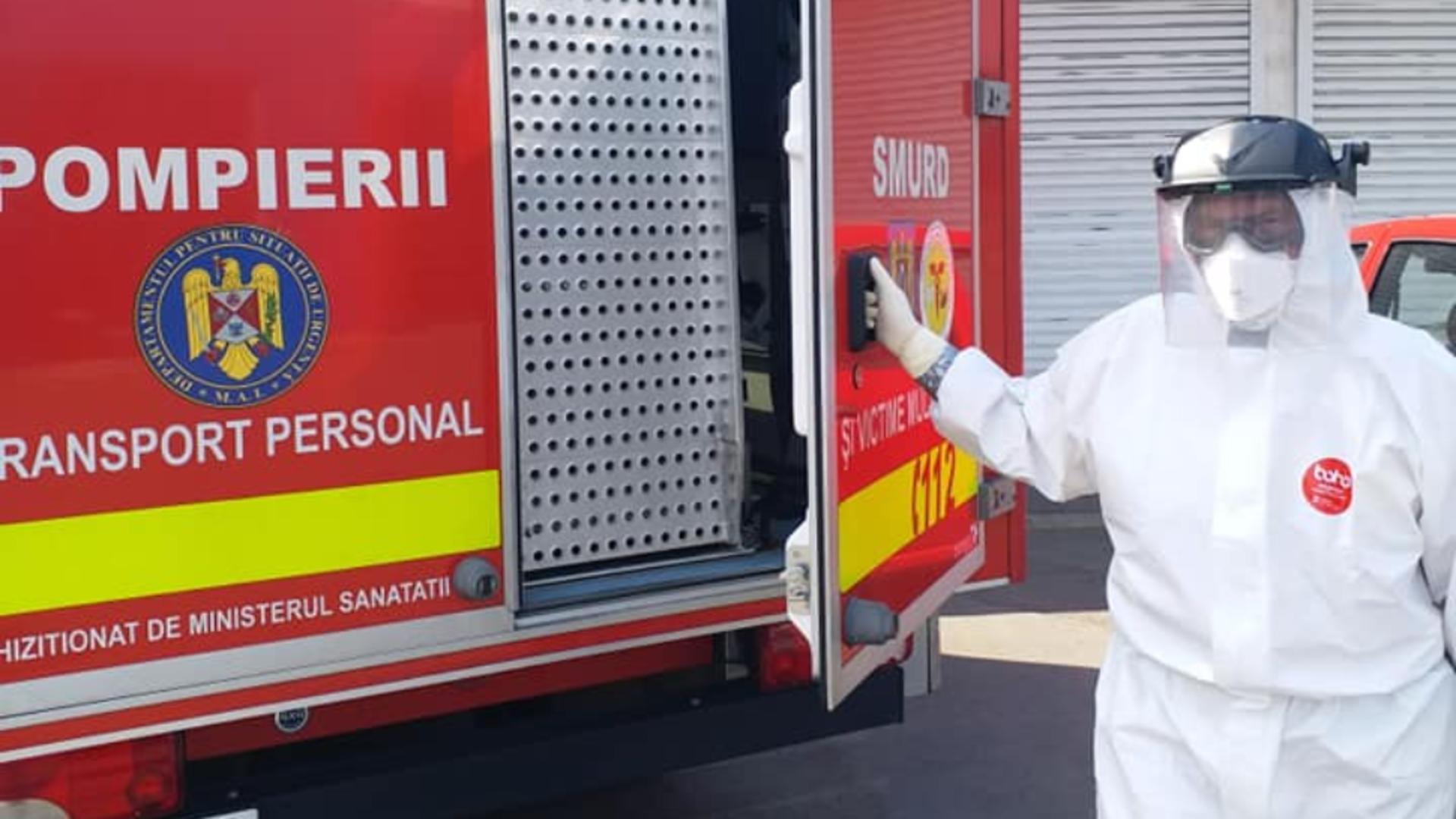 Un pacient străin, infectat cu COVID, a fugit dintr-un spital din Timişoara