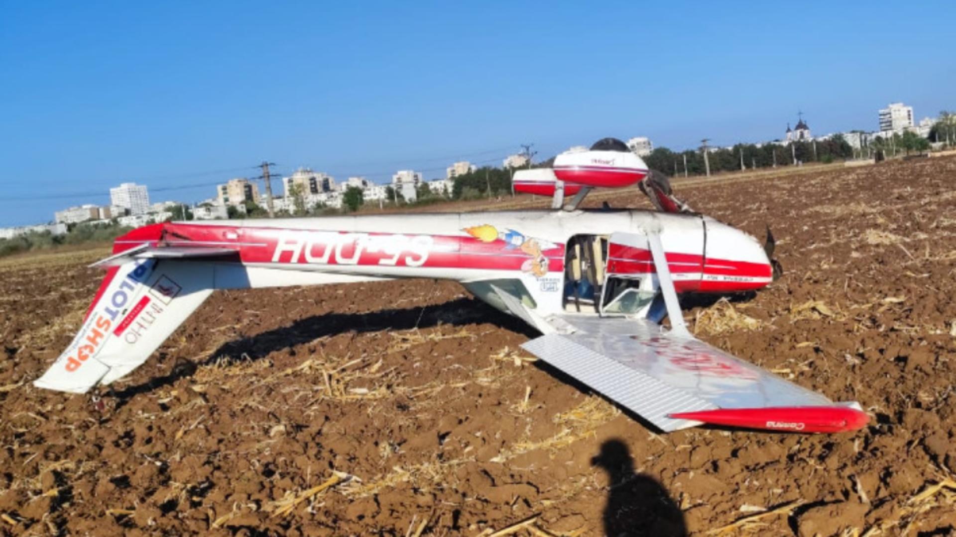 Incident aviatic: aterizare forțată, lângă Ploiești - două victime / Foto: zdp.ro