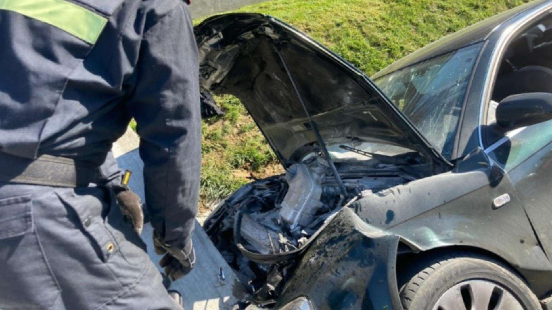 Accident teribil, în Bistrița-Năsăud