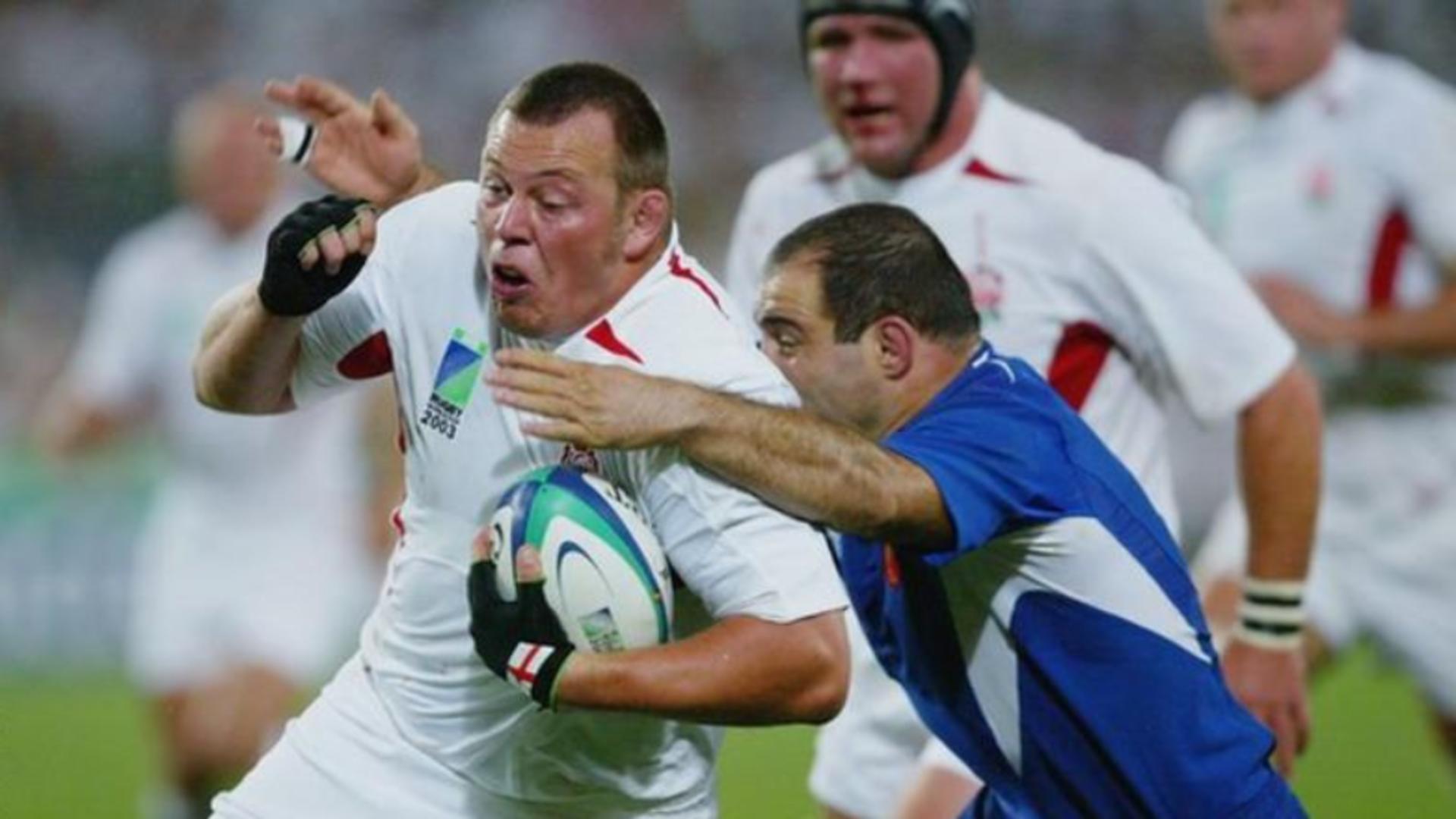 Steve Thompson, fost câştigător al Cupei Mondiale la rugby