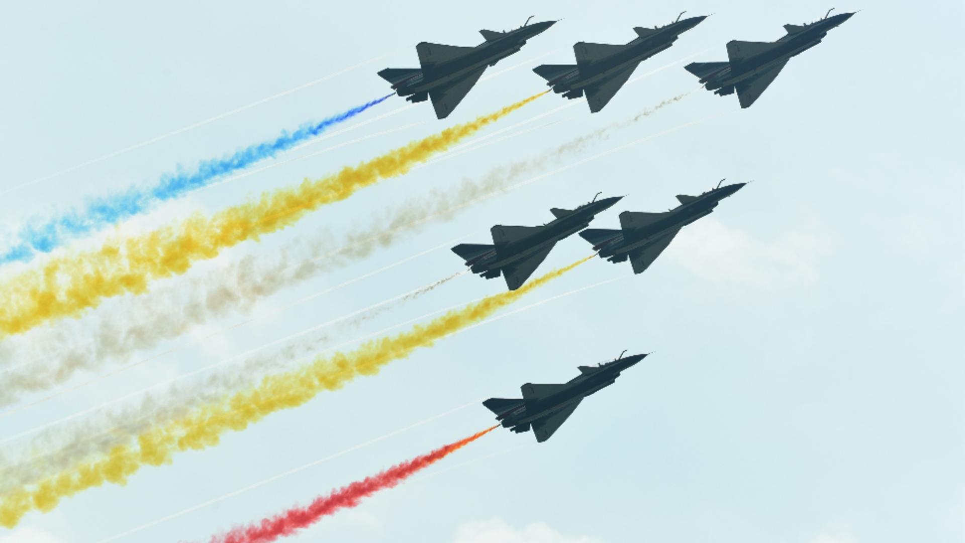 China Air Show, vitrina tehnologică a chinezilor în lupta pentru supremație cu americanii. Foto/Profimedia