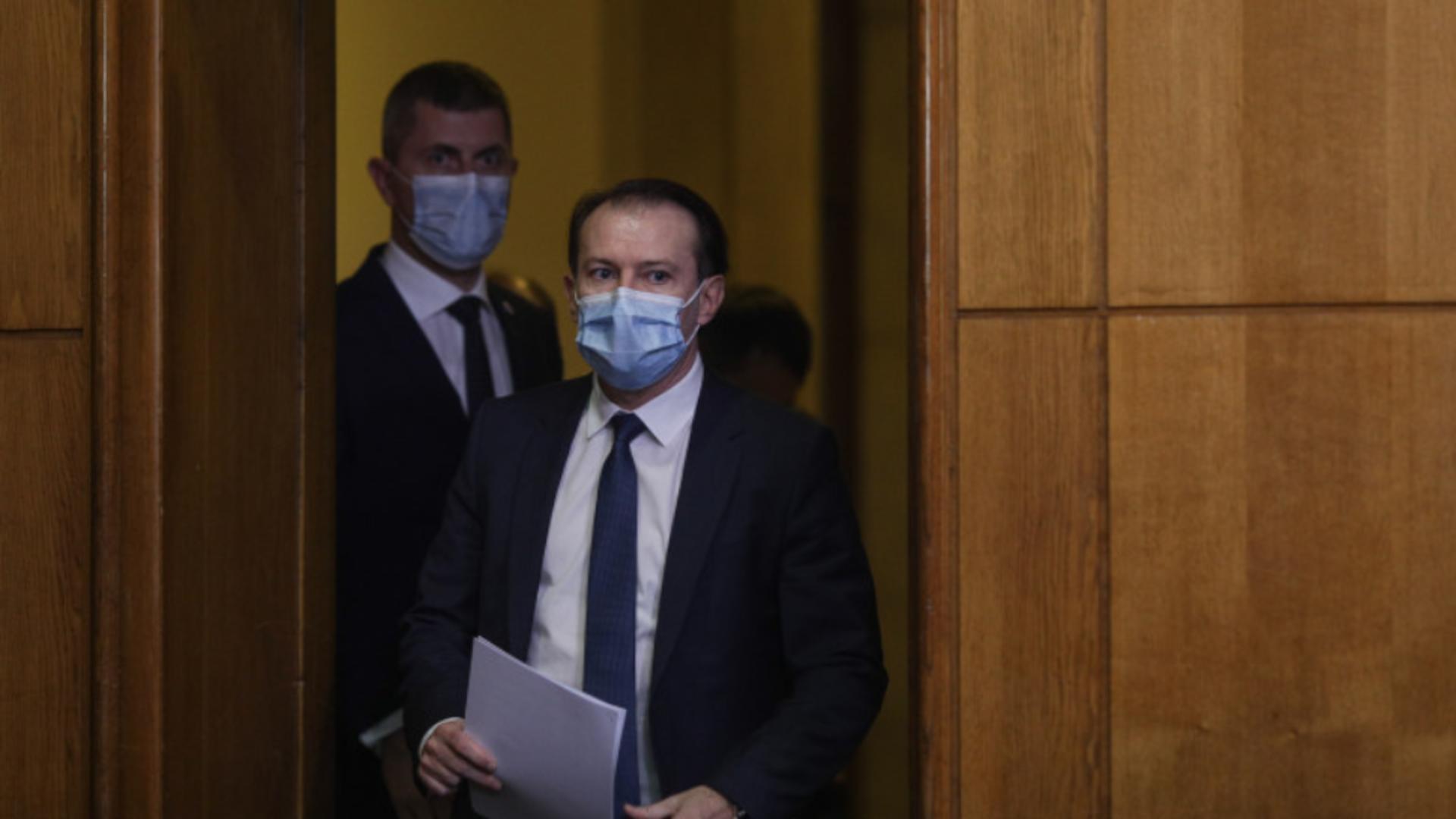 Florin Cîțu continuă demiterile din guvern. Foto/Inquam