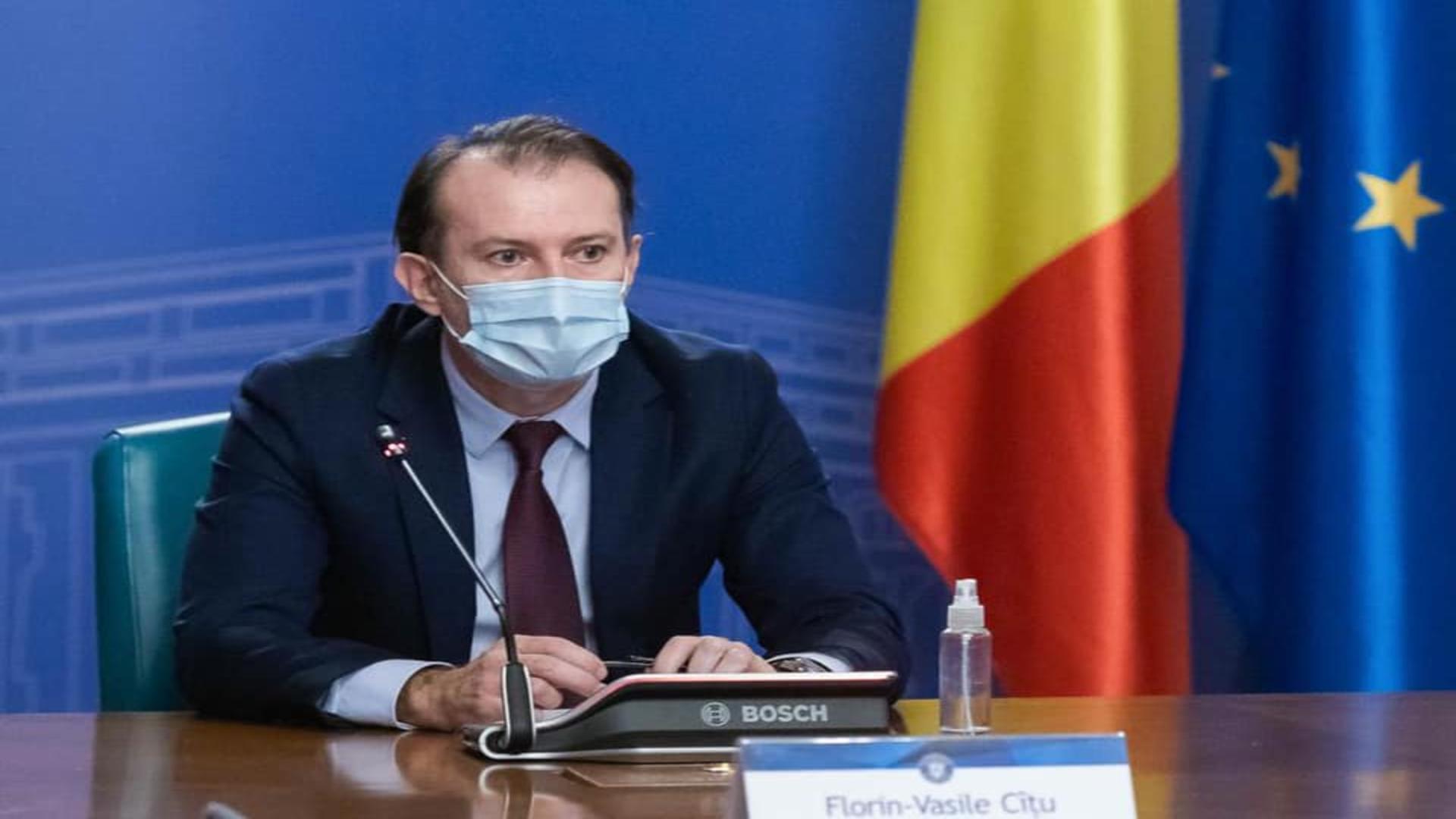 Premierul României - Florin Cîțu
