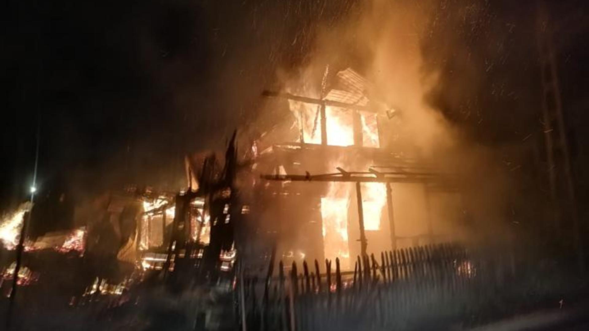 Incendiu devastator în Cluj