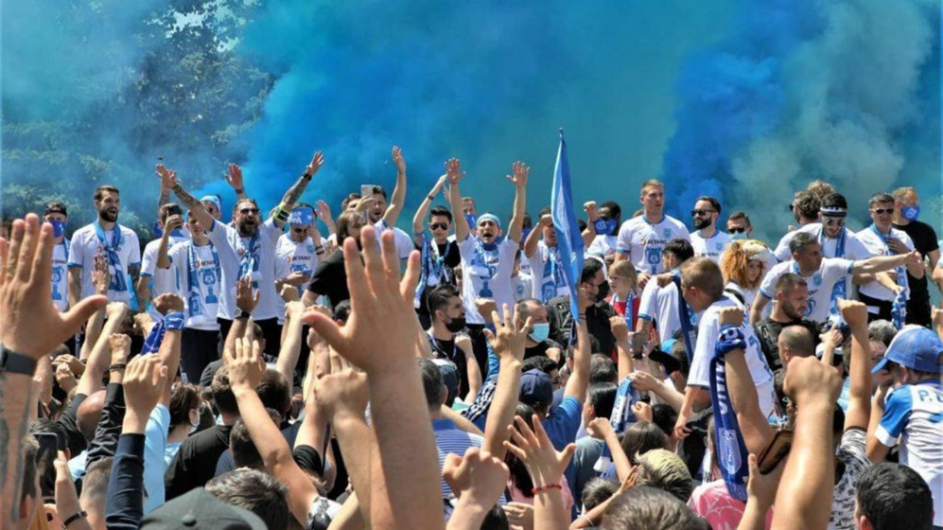Sar scântei între rivalele din Craiova! Patronul lui CSU a dat startul printr-o declarație incendiară