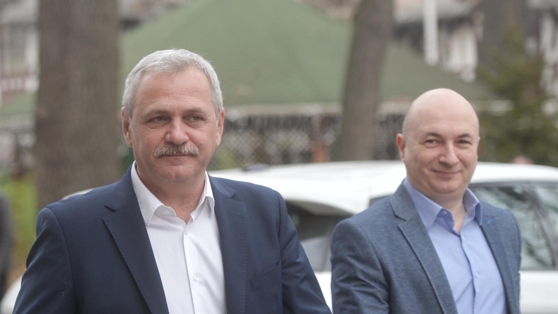 Liviu Dragnea si Codrin Stefanescu