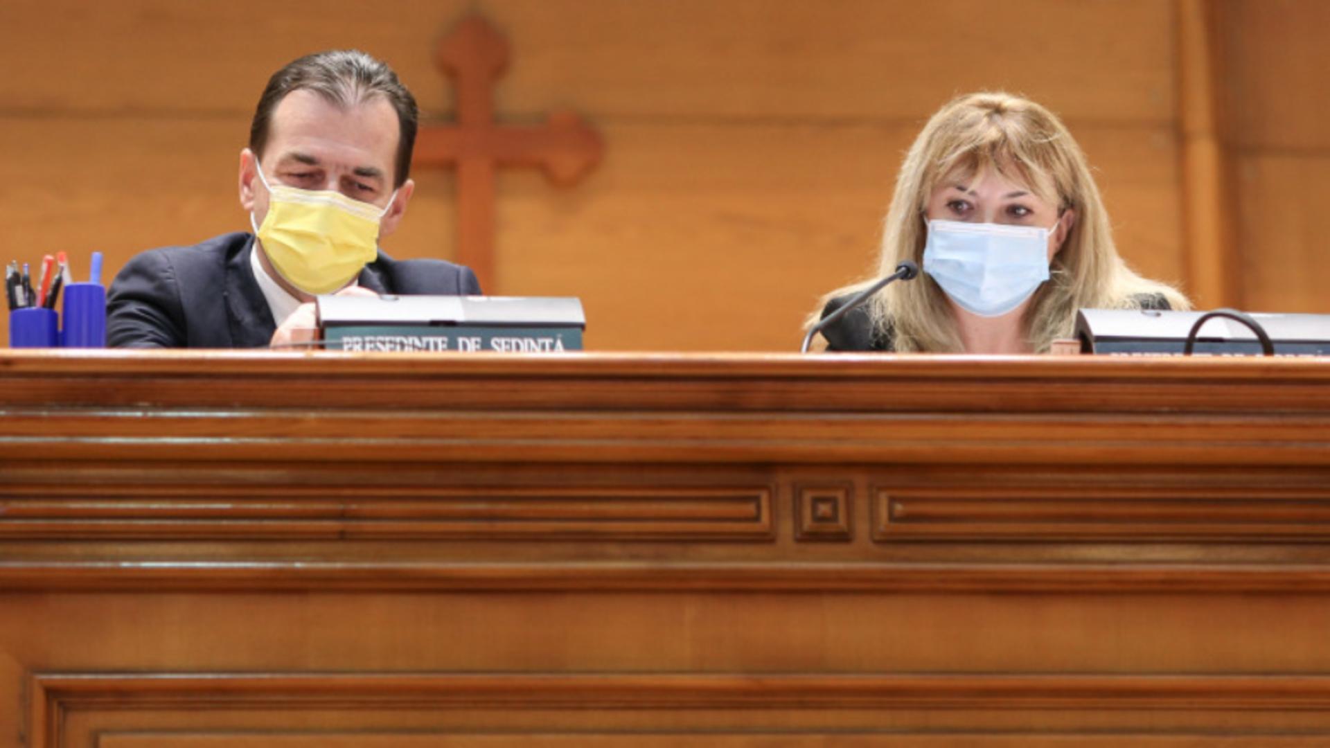 Anca Dragu și Ludovic Orban