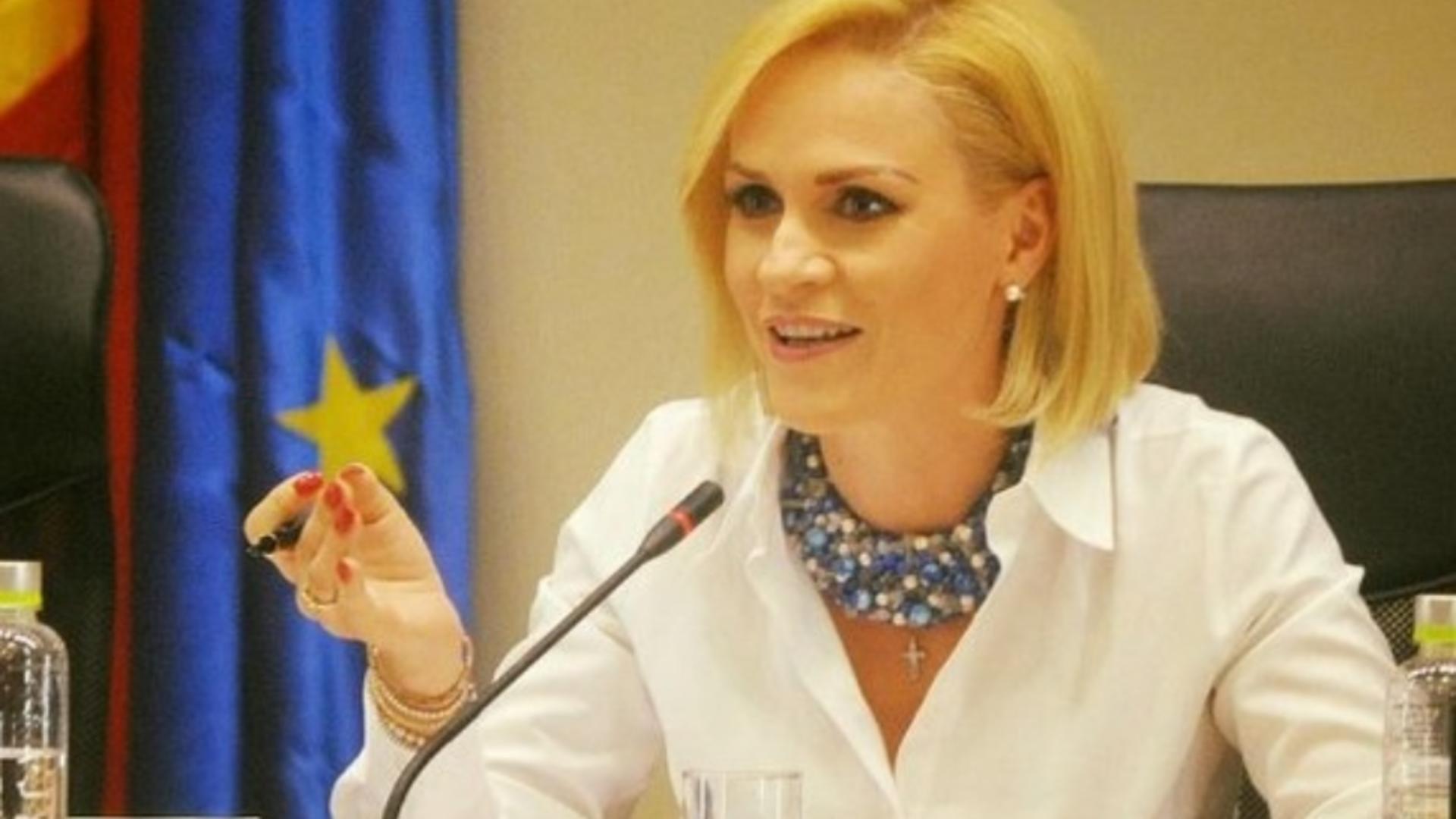 Gabriela Firea, critici dure pentru Executiv