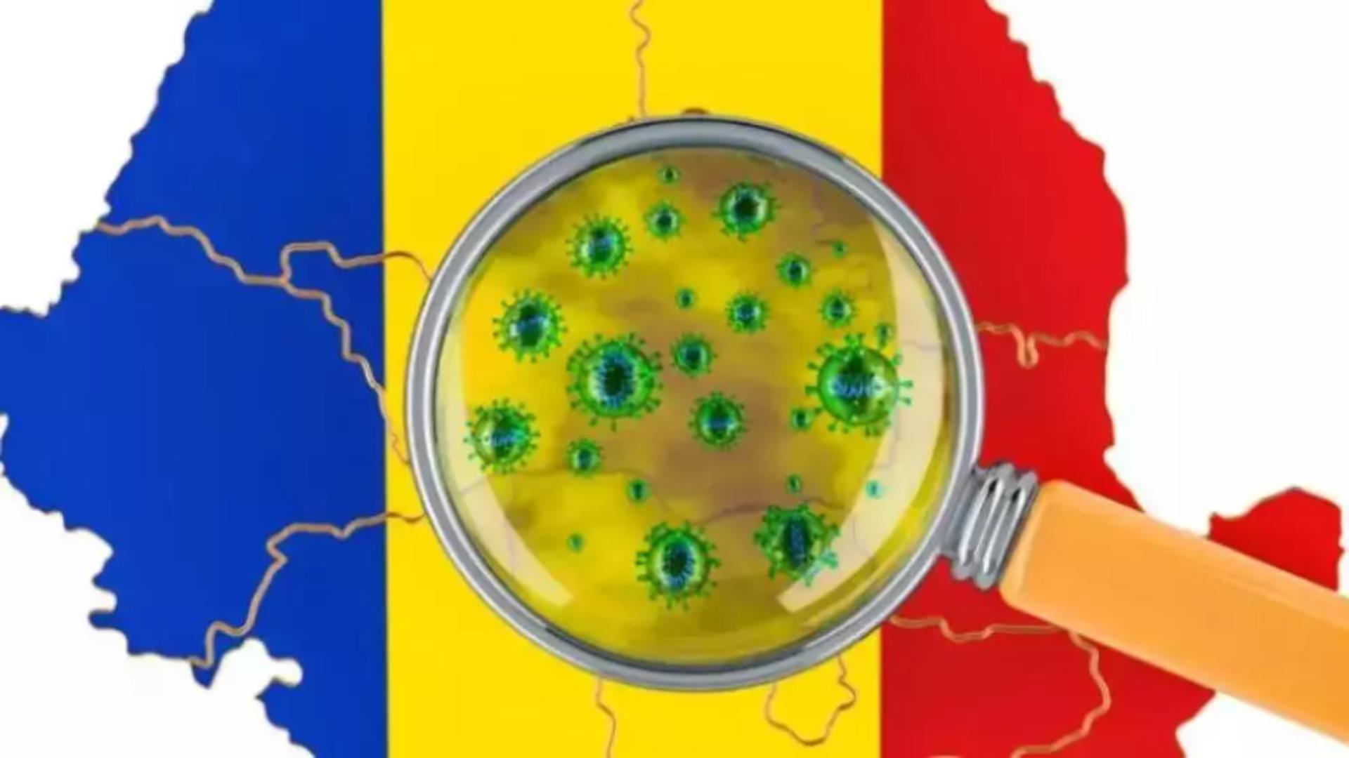 Date despre rata de infectare din România