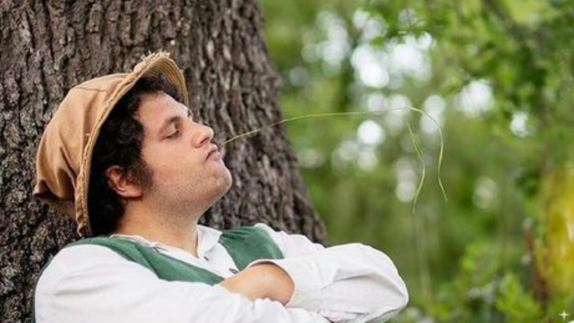 Viață de poveste pentru un italian - Trăiește, de 3 ani, ca un hobbit, în pădure