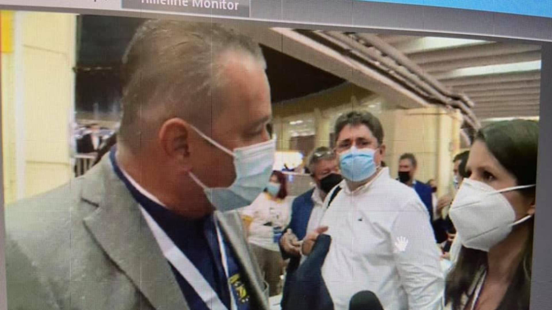 Jurnalistă BRUSCATĂ la congresul PNL Foto: Facebook.com