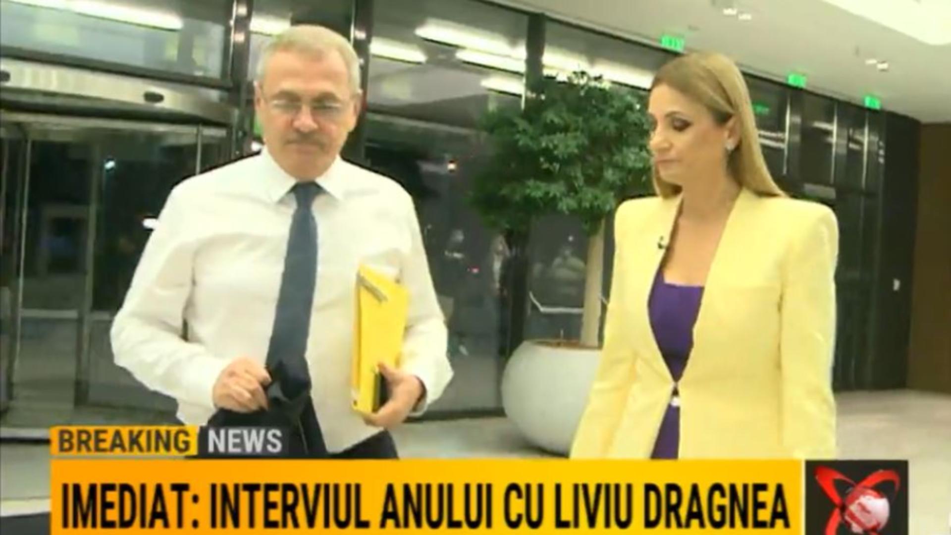 Primul interviu al lui Dragnea după ieșirea din penitenciar. Foto/Realitatea