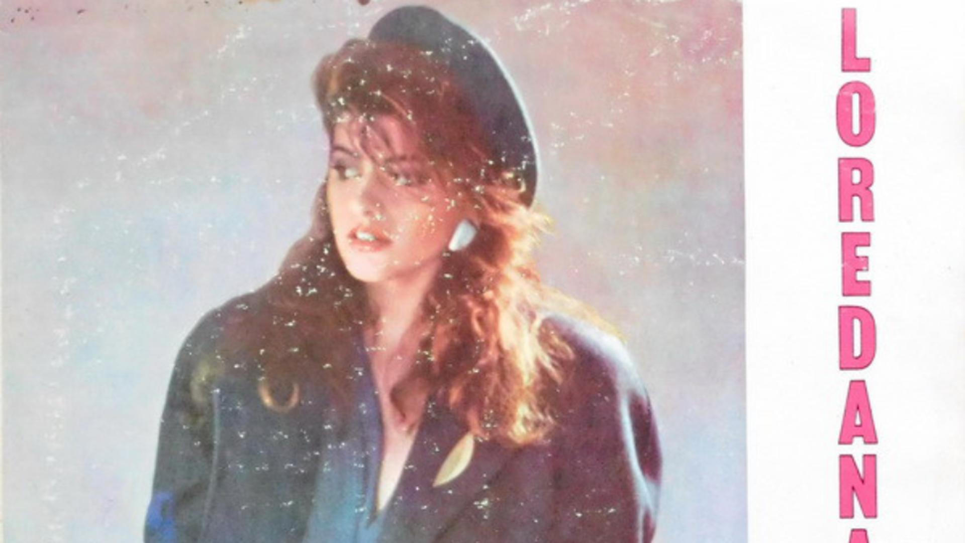 Coperta primului album Loredana (1988)
