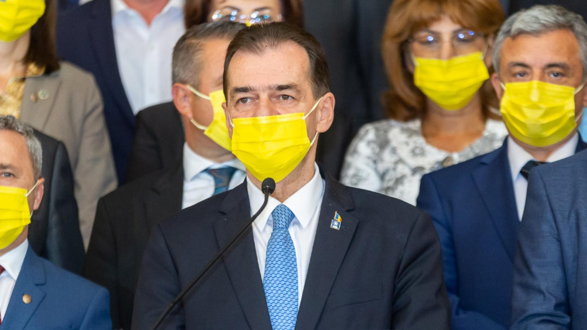 Președintele Camerei Deputaților - Ludovic Orban