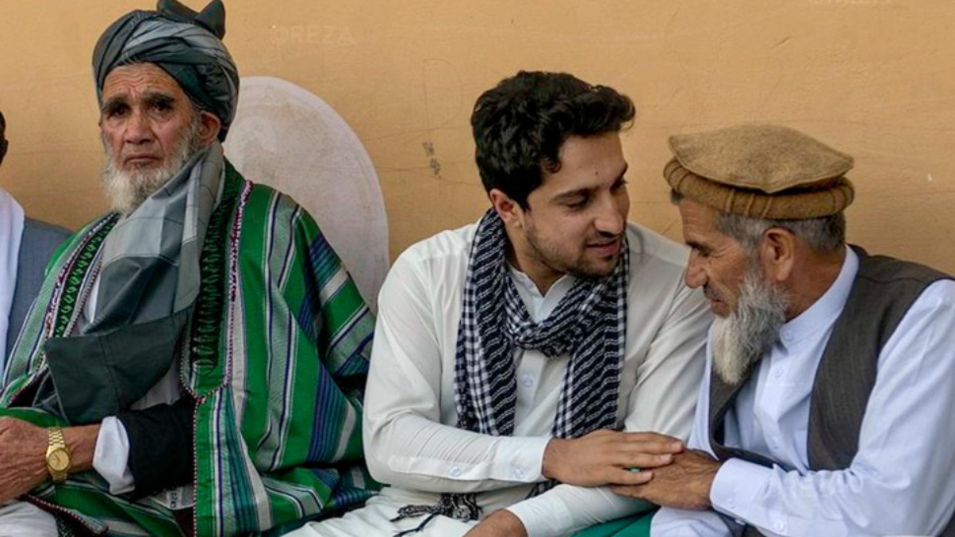 Ahmad Massoud, liderul rezistenței anti-talibane din Afganistan Foto: Twitter.com