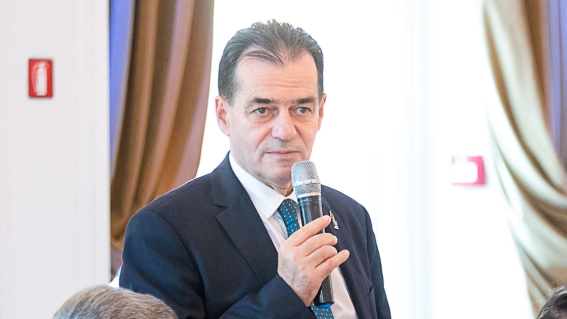 Președintele PNL - Ludovic Orban