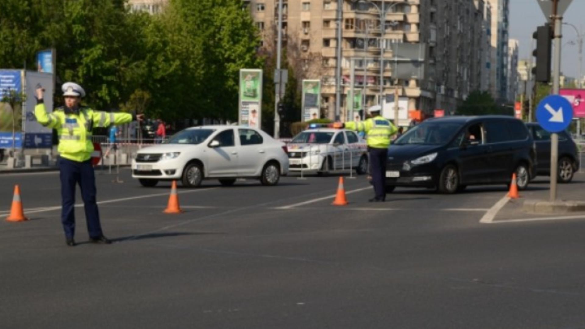 Poliția Română - restricții de circulație