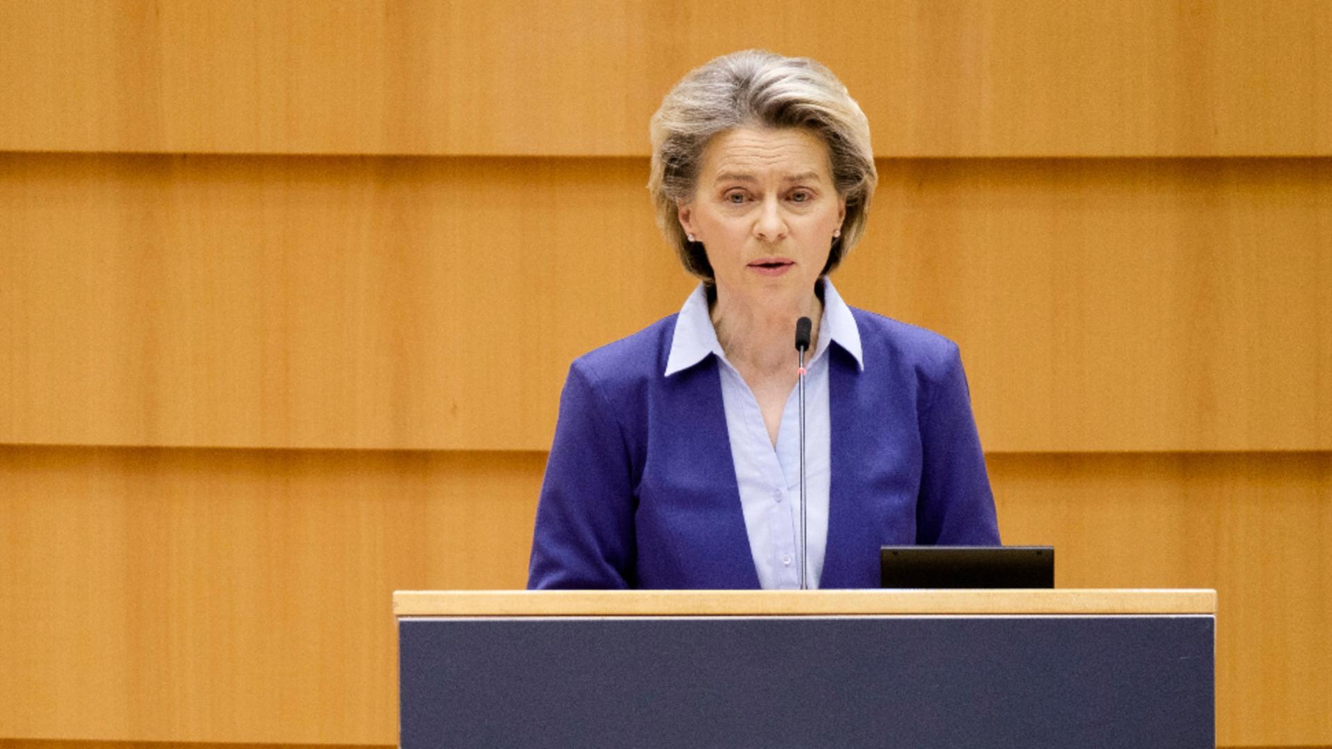 Președintele Comisiei Europene, Ursula von der Leyen / Foto: Profimedia