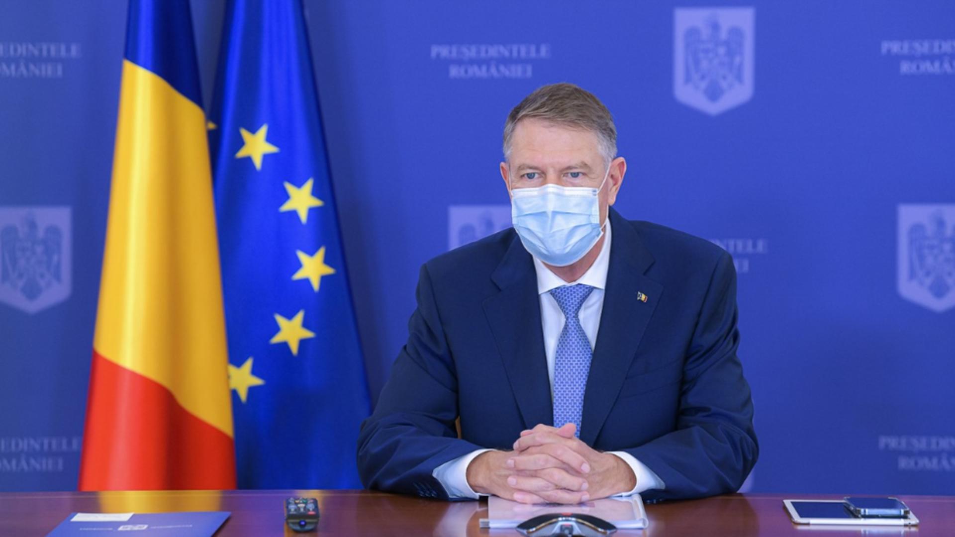 Klaus Iohannis. Sursa foto: Profi Media