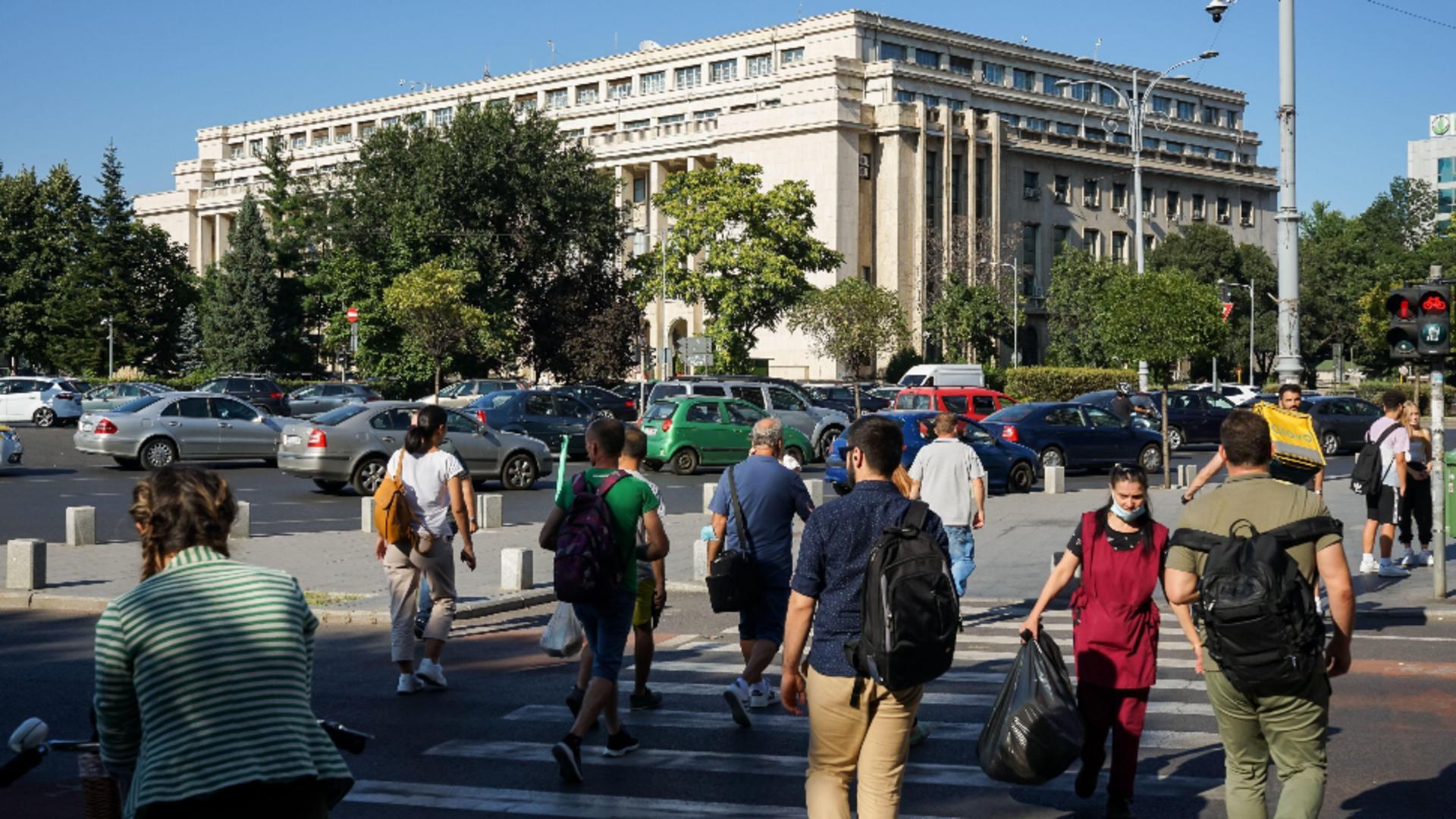Rata de infectare în Bucureşti a ajuns la 6,64 la mia de locuitori. FOTO: Profi Media