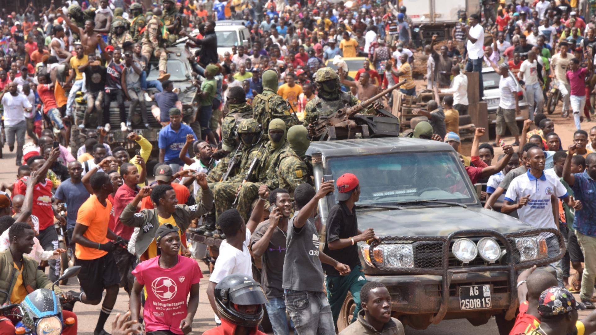 Lovitură de stat în Guineea / Foto: Profi Media