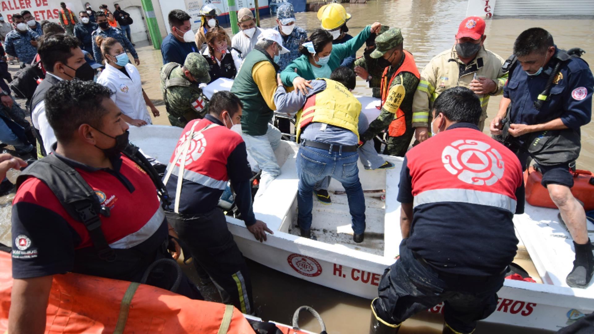Inundații catastrofale, în Mexic / Foto: Profi Media
