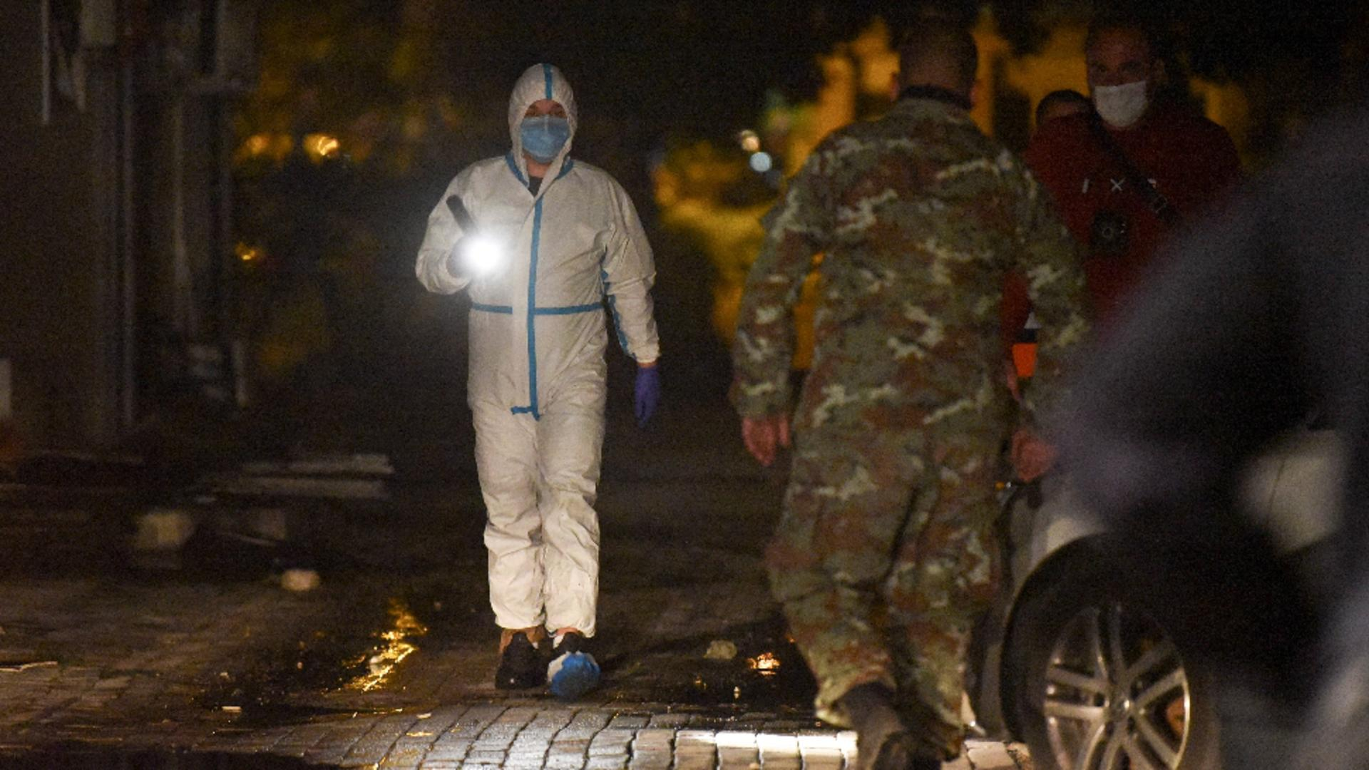 Incendiu violent, într-un spital Covid din Macedonia de Nord / Foto: Profi Media