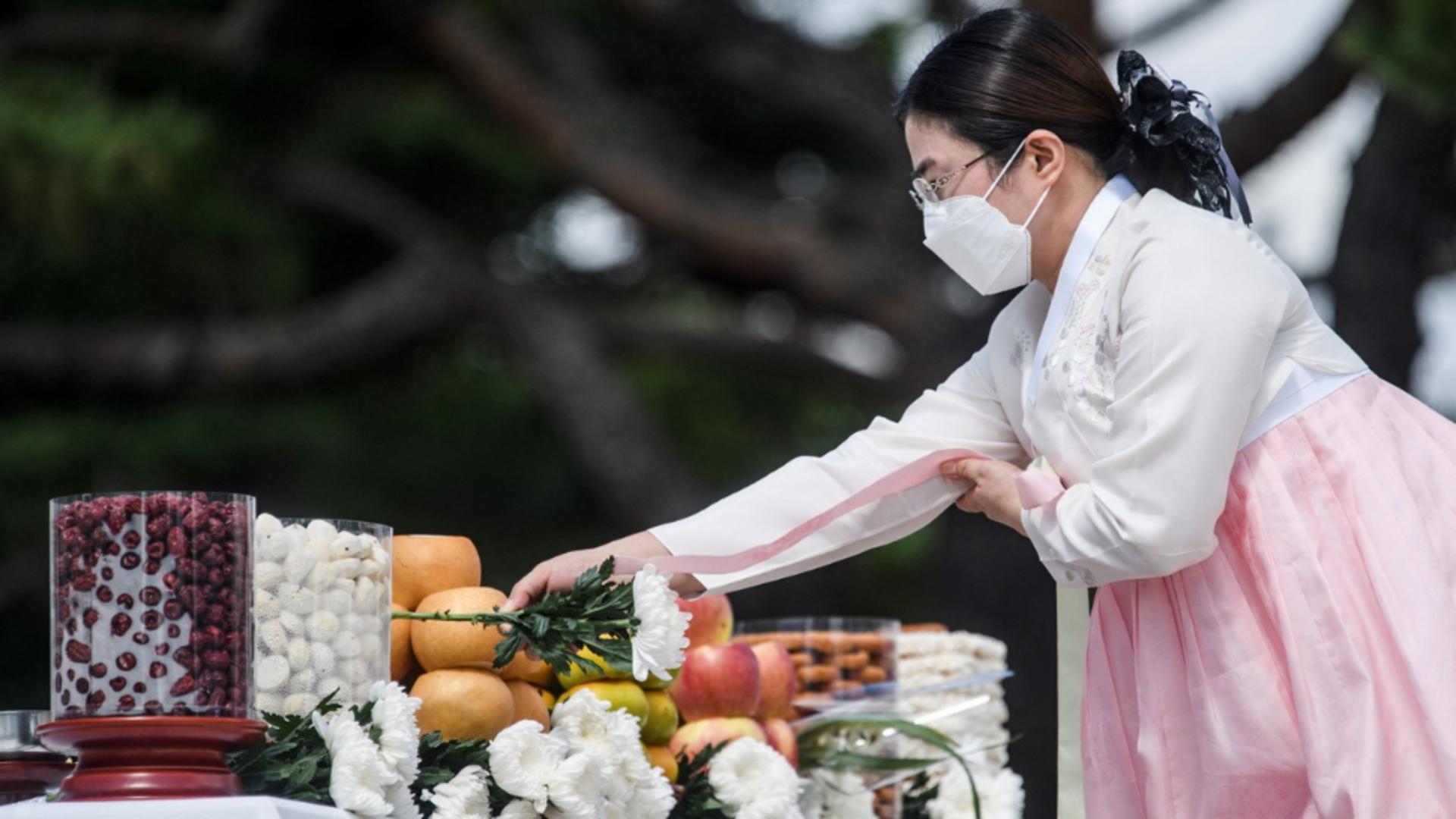 Ceremonie specifică Chuseok, în Coreea de Sud / Foto: Profimedia