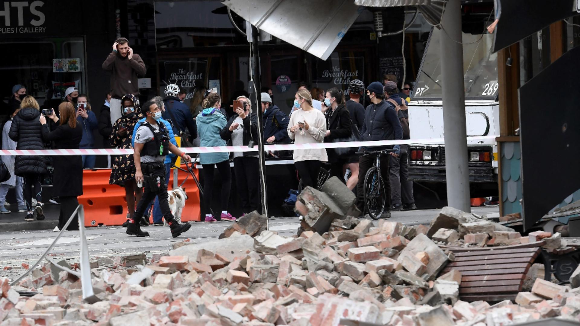 Cutremur violent, de 6 grade, în apropiere de Melbourne / Foto: Profi Media