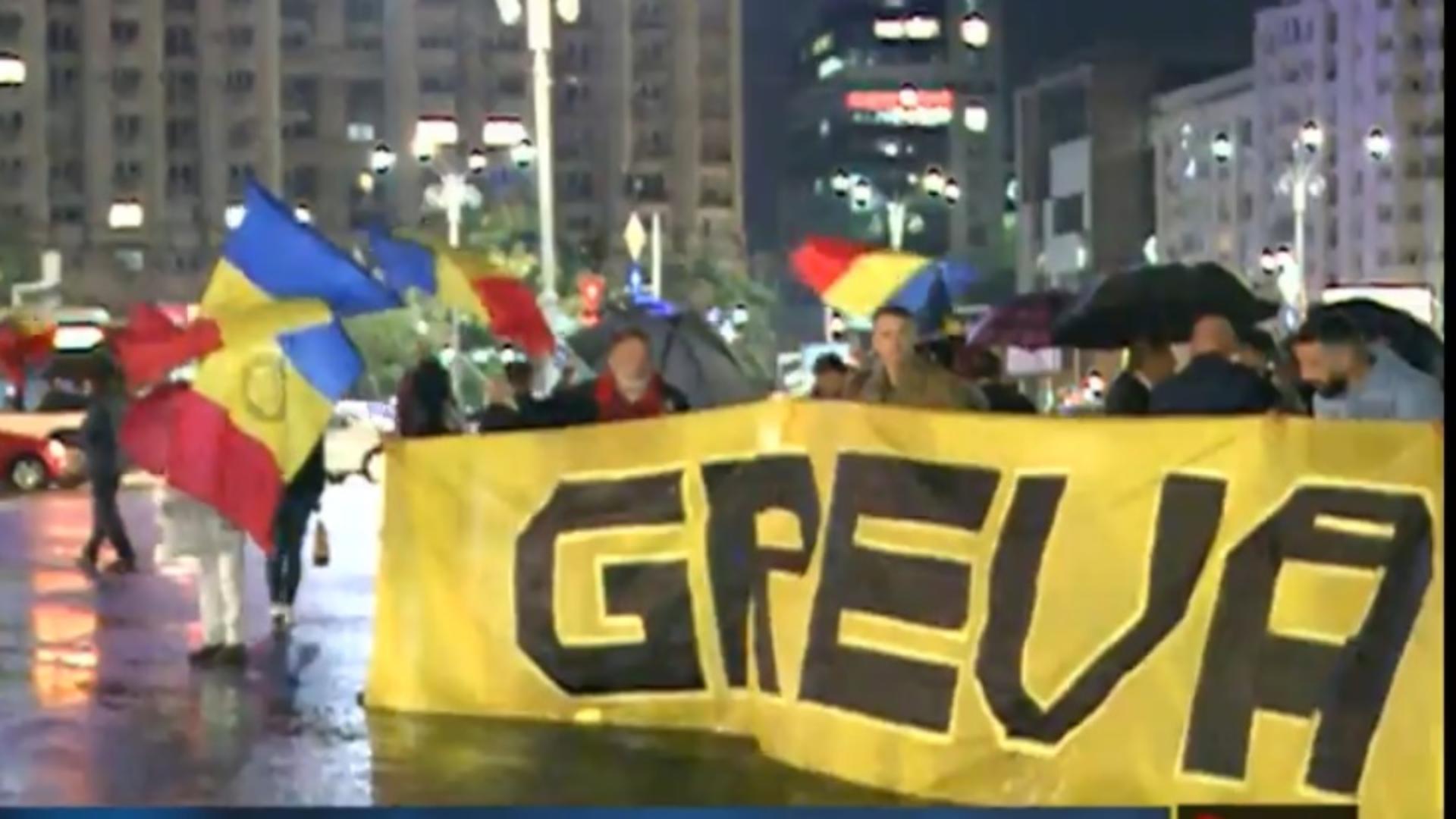 Protest împotriva certificatului verde