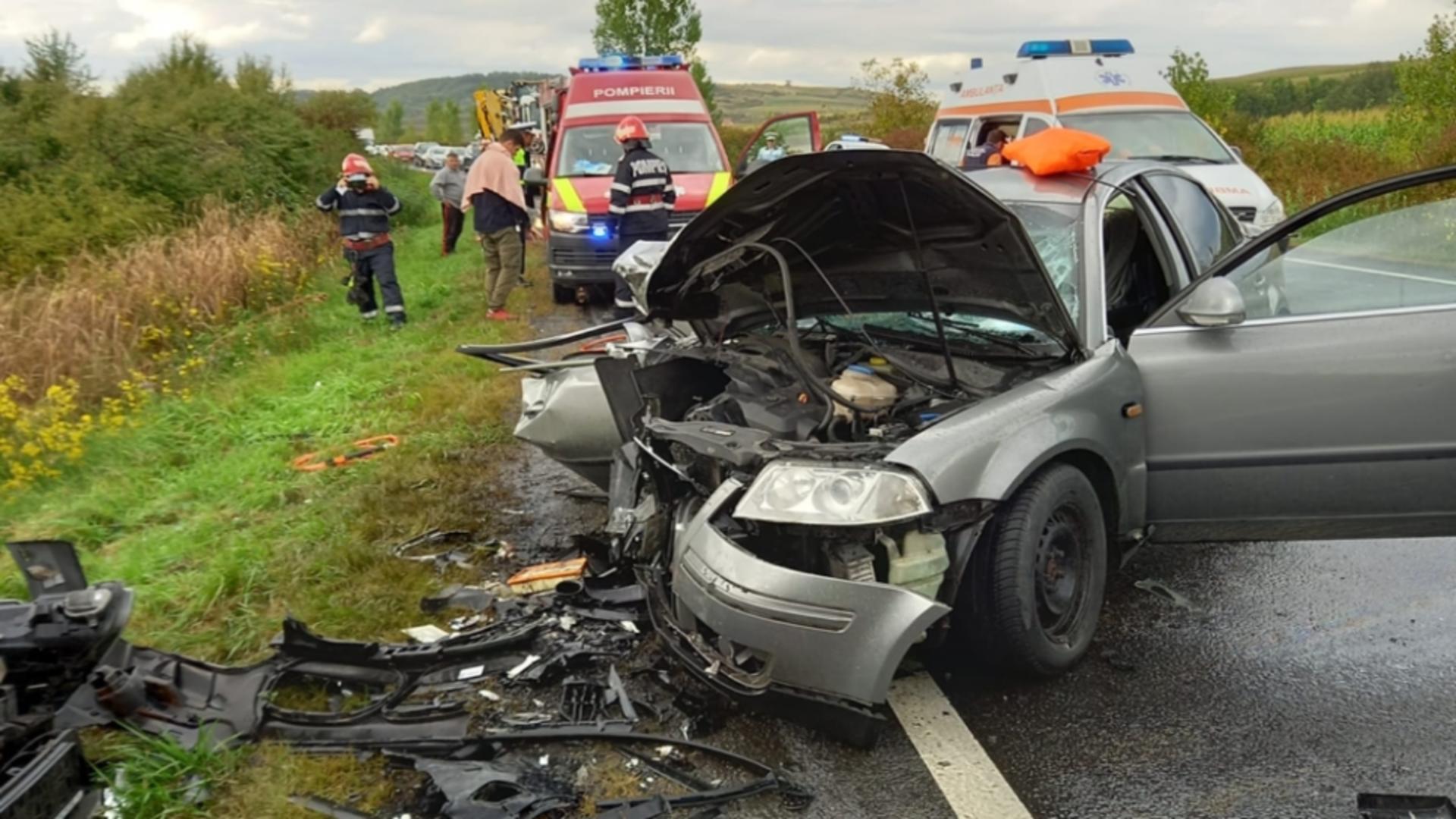 Accident Sălaj. Foto: realitateadesalaj.net