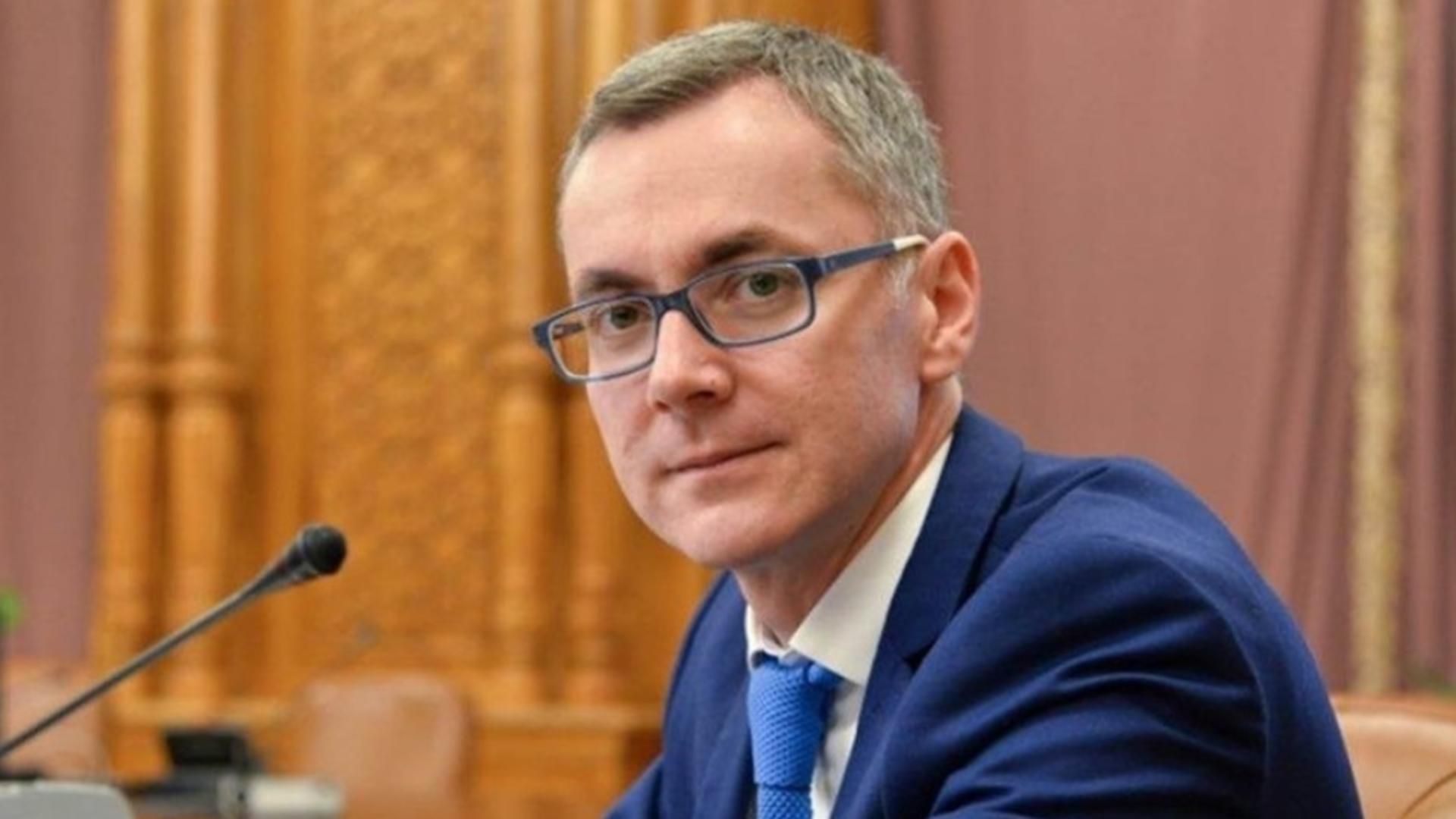 Stelian Ion, ministrul revocat al Justiției (USR-PLUS)