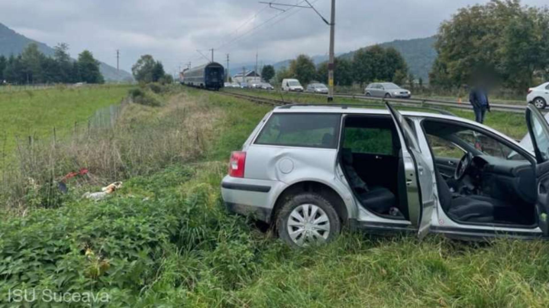 Accident Suceava. Foto: ISU Suceava