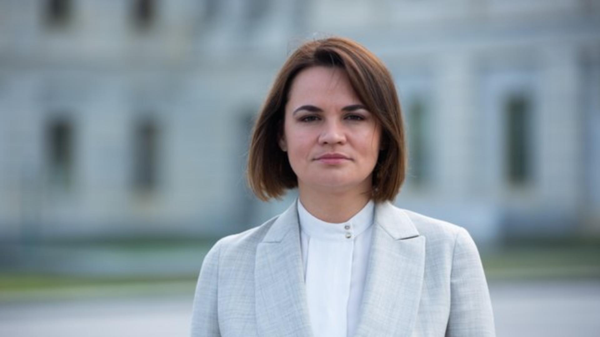 Svetlana Tihanovskaia, lidera Opoziției din Belarus Foto: Twitter.com
