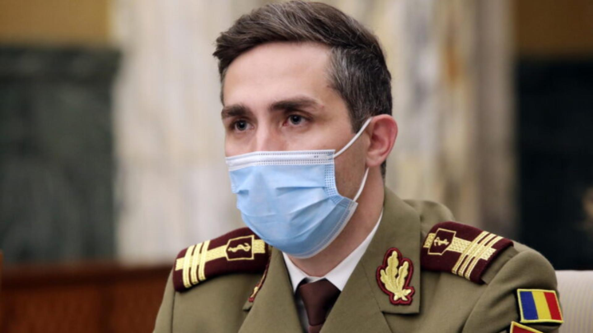 Valeriu Gheorghiță, coodonatorul campaniei naţionale de vaccinare antiCovid