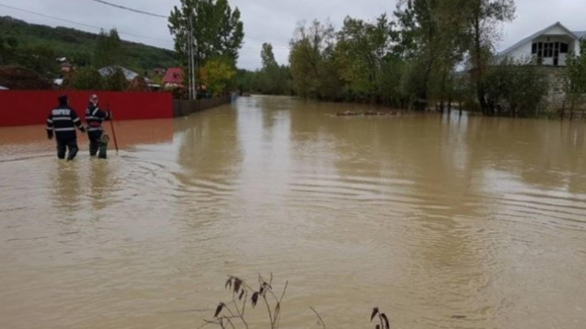 Inundații România. Sursa foto: Facebook