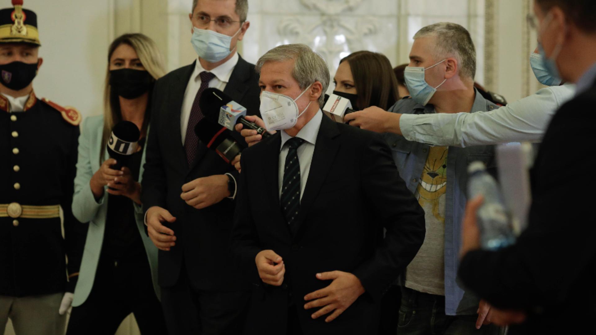 Dacian Cioloș, președinte USRPLUS / Inquam Photos / George Calin