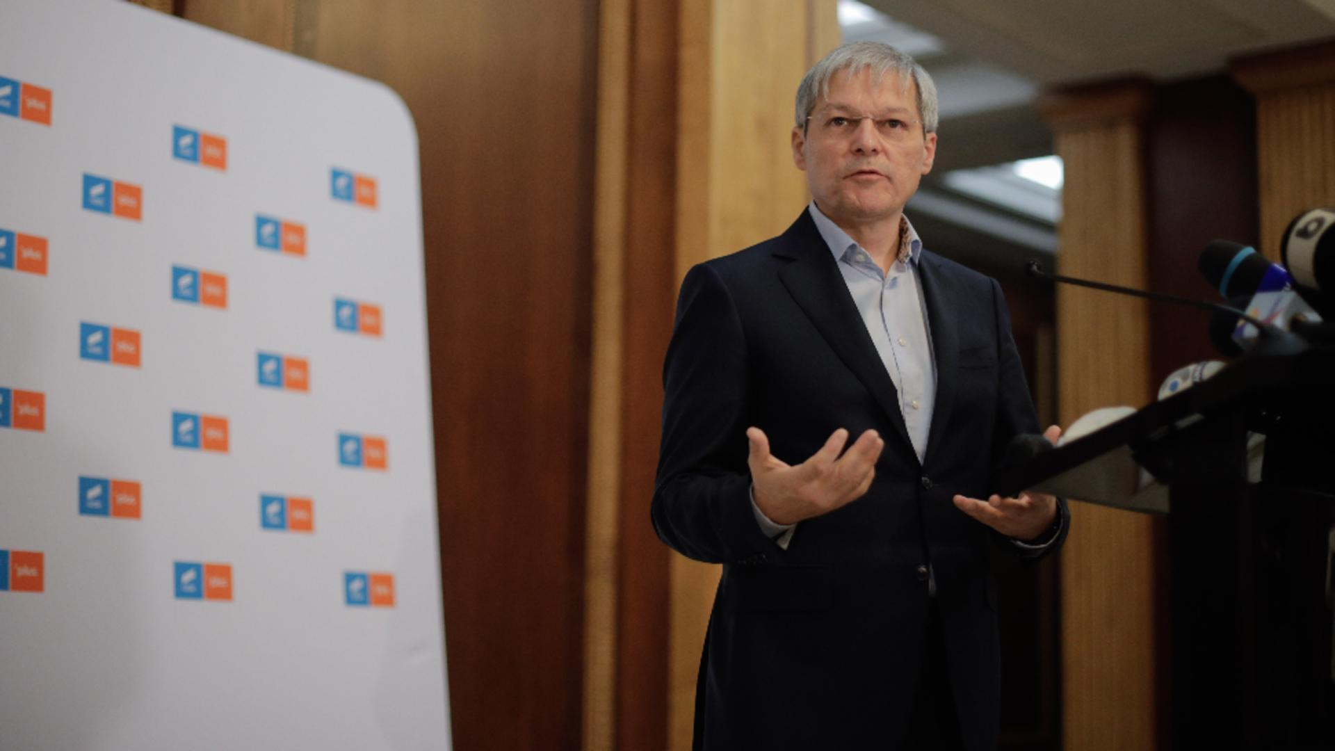 Dacian Cioloș. Foto: Inquam Photos / George Călin