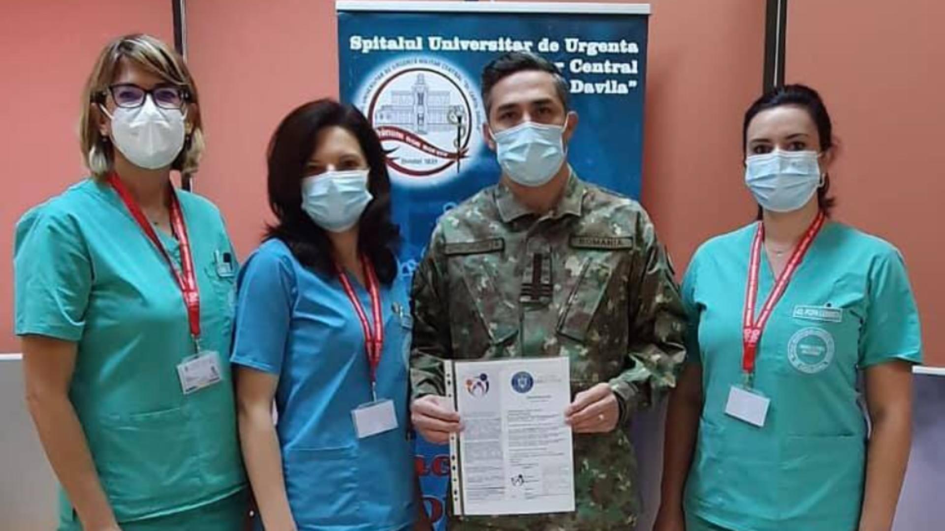 Vaccinare anti-Covid Valeriu Gheorghita / Facebook RO Vaccinare
