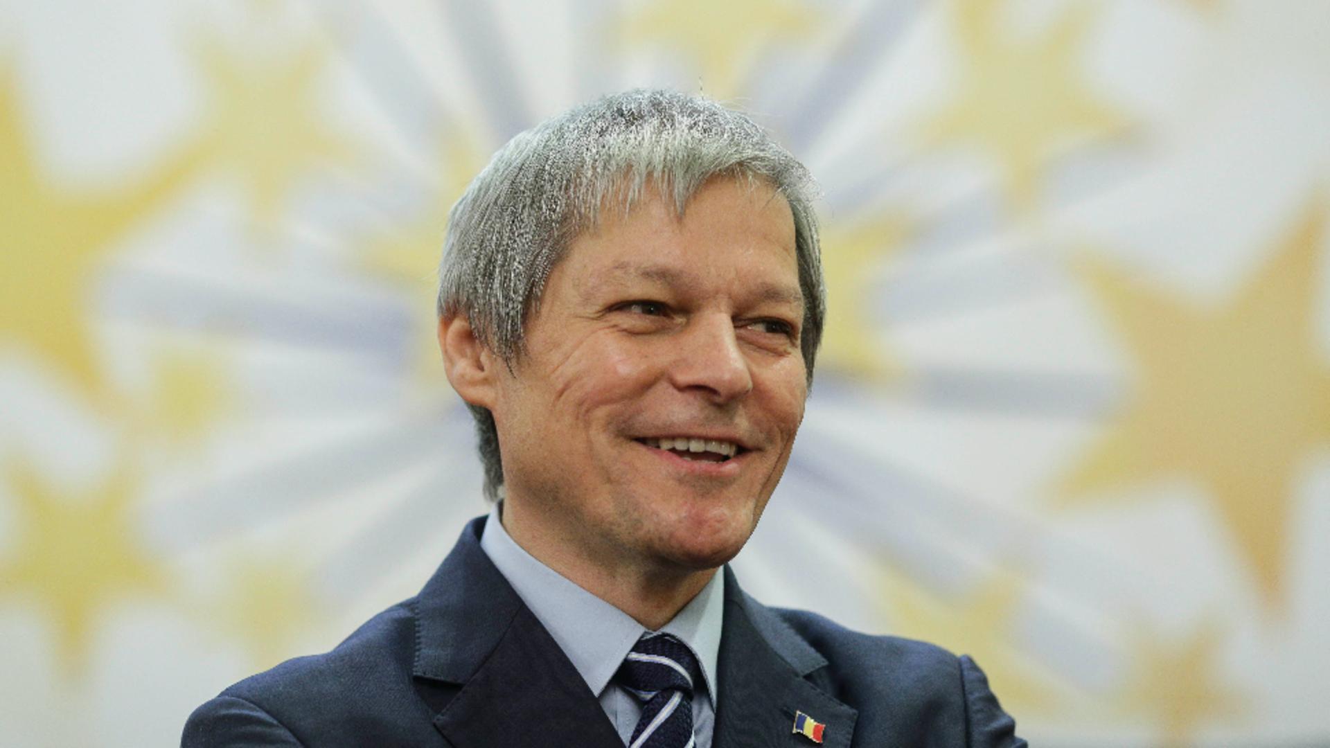 Dacian Cioloș Foto: INQUAM/Octav Ganea