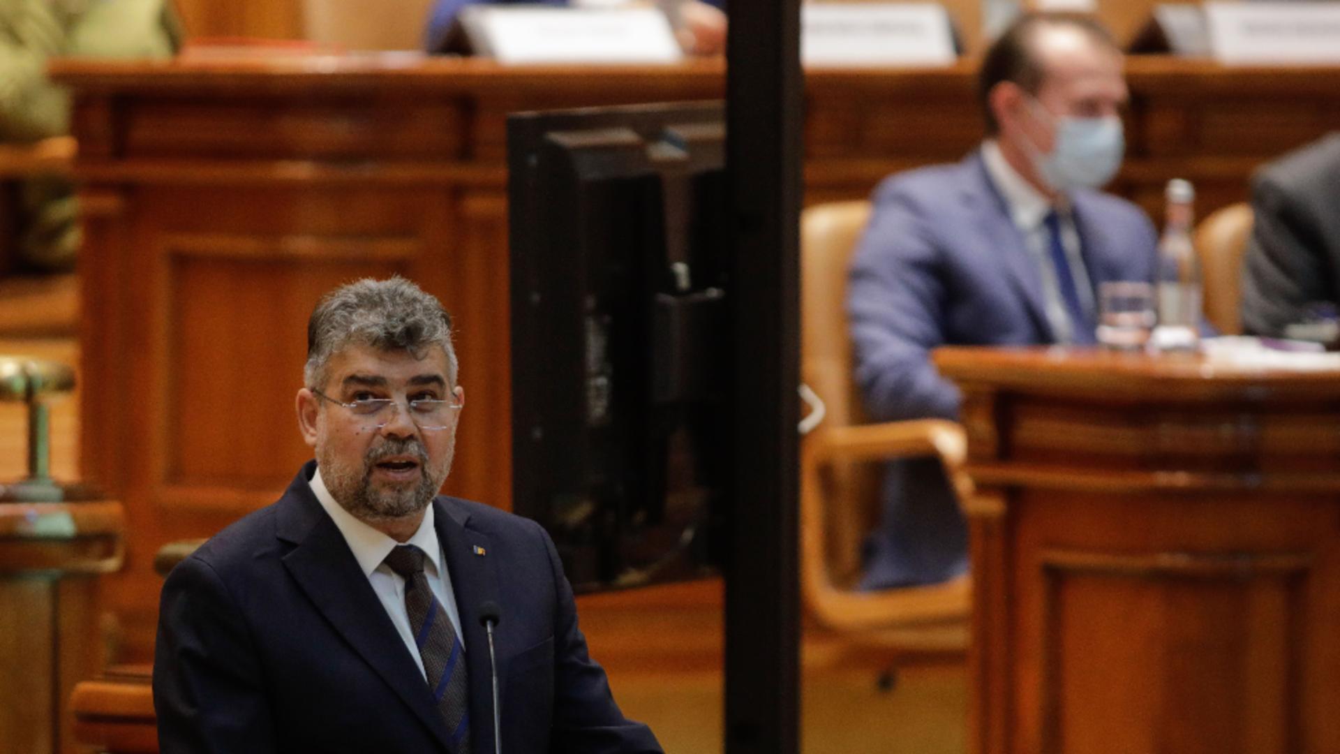 Marcel Ciolacu. Foto: Inquam Photos / George Călin