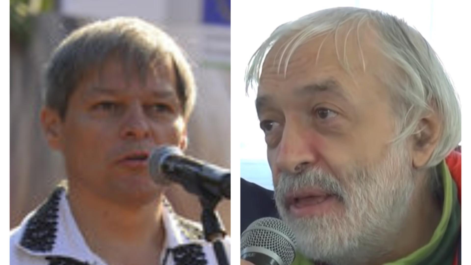 Dacian Cioloș/Gregorian Bivolaru