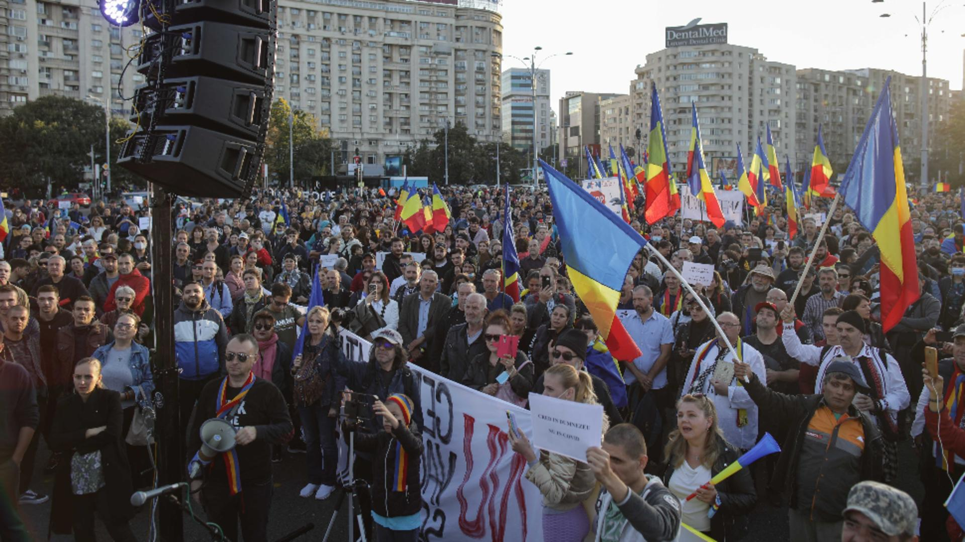 Proteste București. Foto: Inquam Photos / Octav Ganea