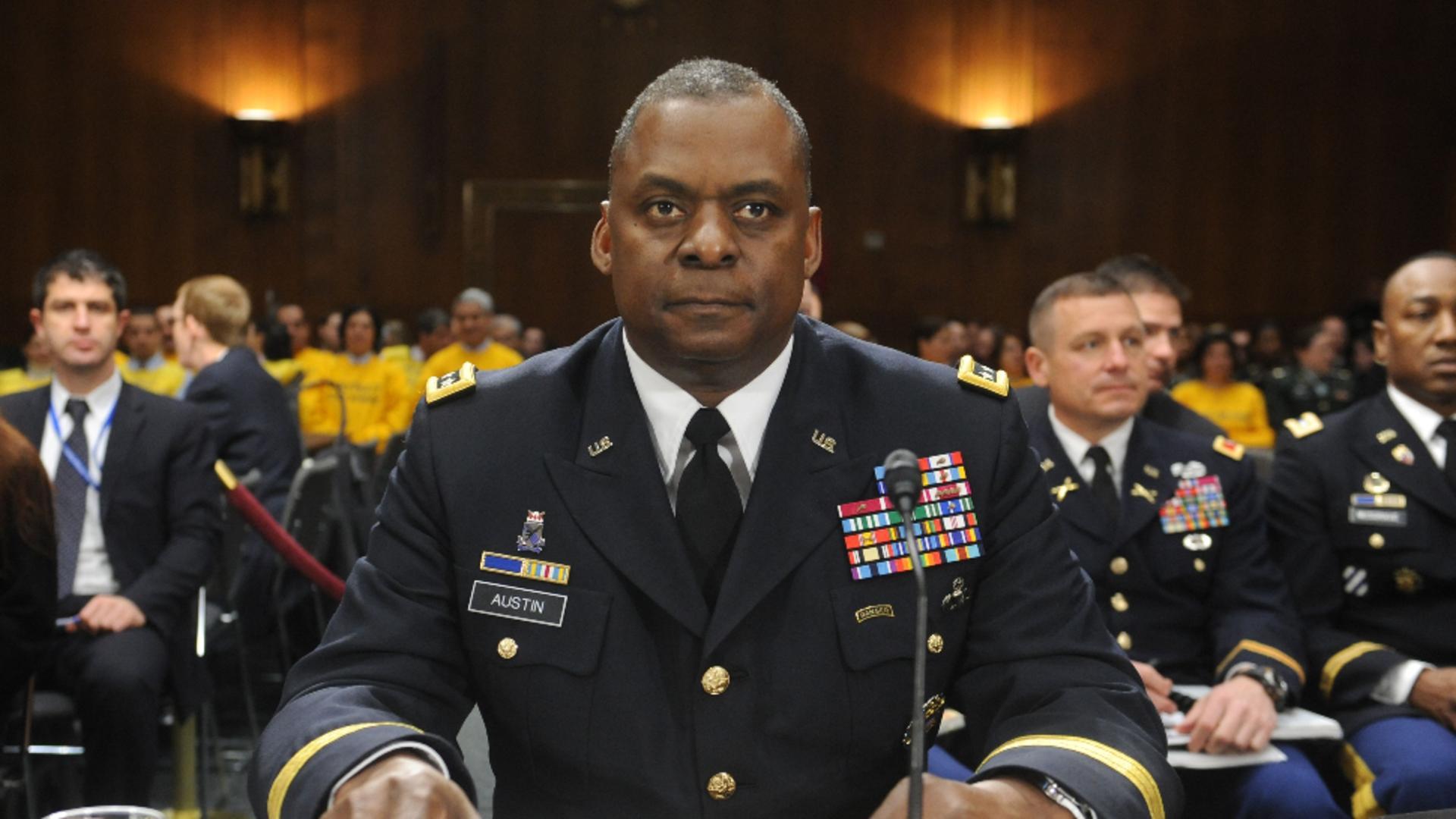 Lloyd Austin - șeful Pentagonului