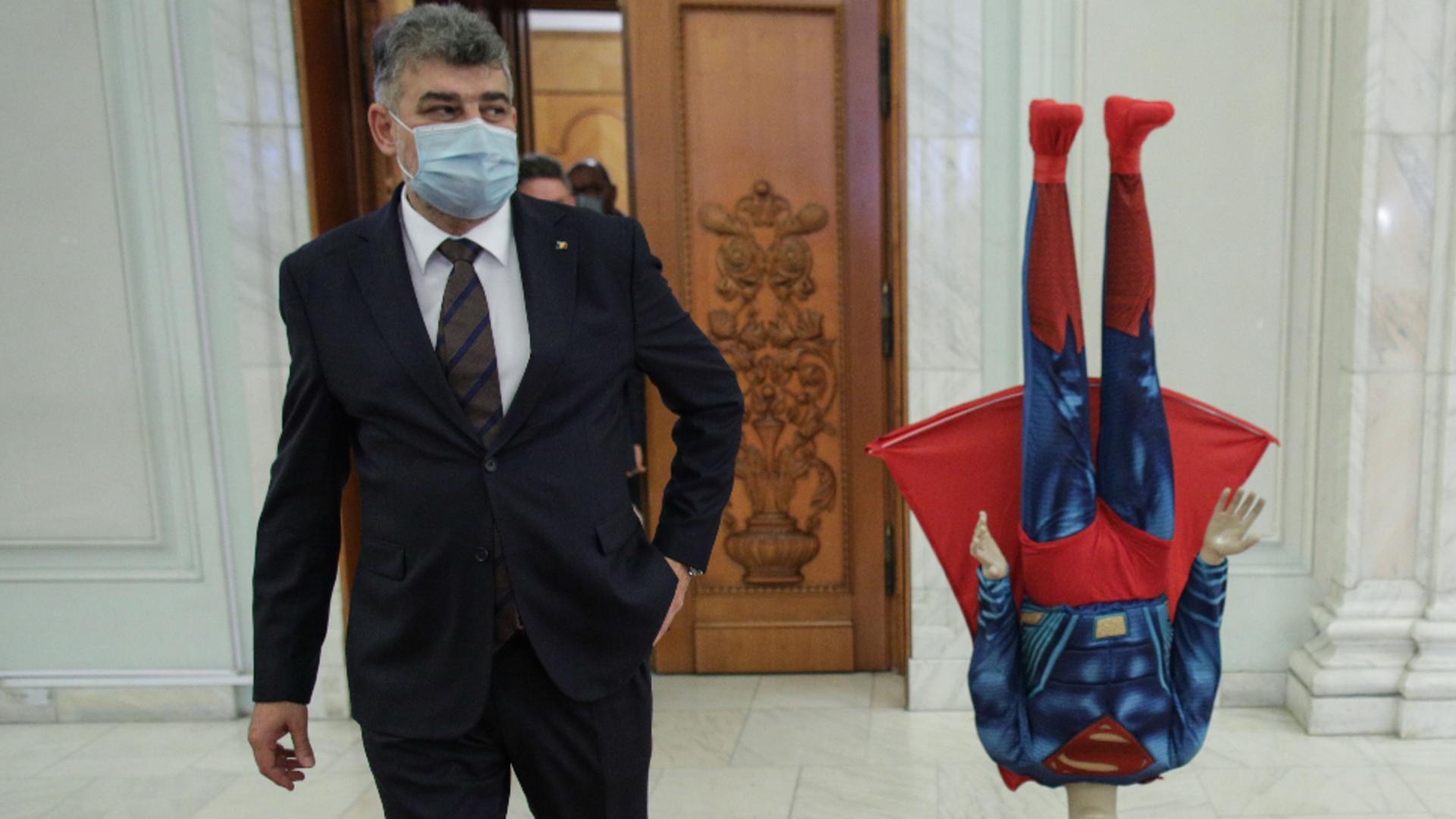 Ciolacu spune că nu poate guverna PSD de unul singur. Foto/Inquam