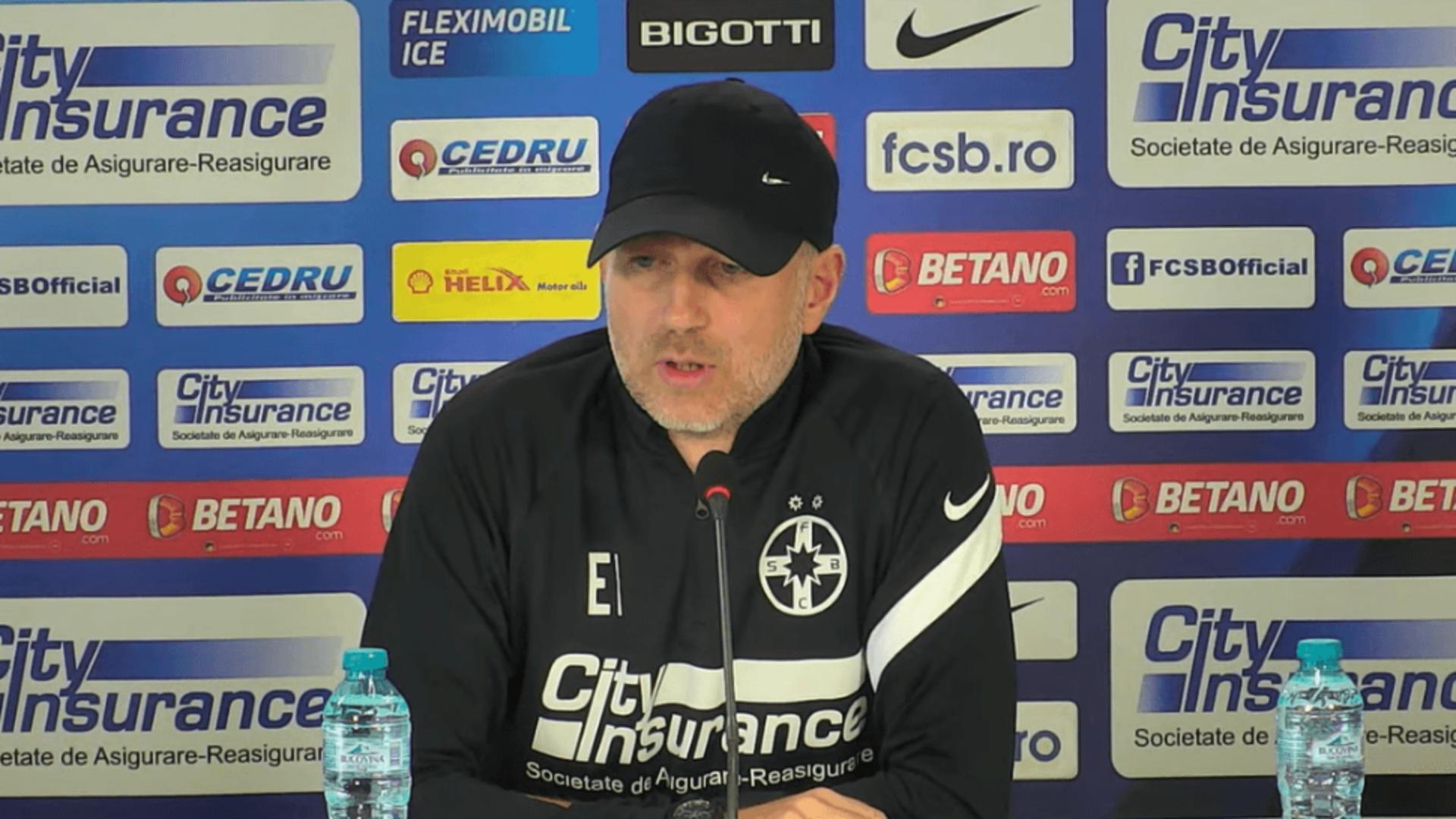 Prima reacție a lui Edi Iordănescu după infectarea cu COVID-19! Decizia luată de antrenorul FCSB-ului
