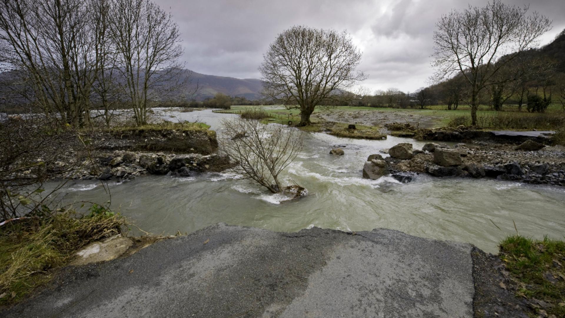 Alertă de inundații în Tulcea. Foto/Profimedia