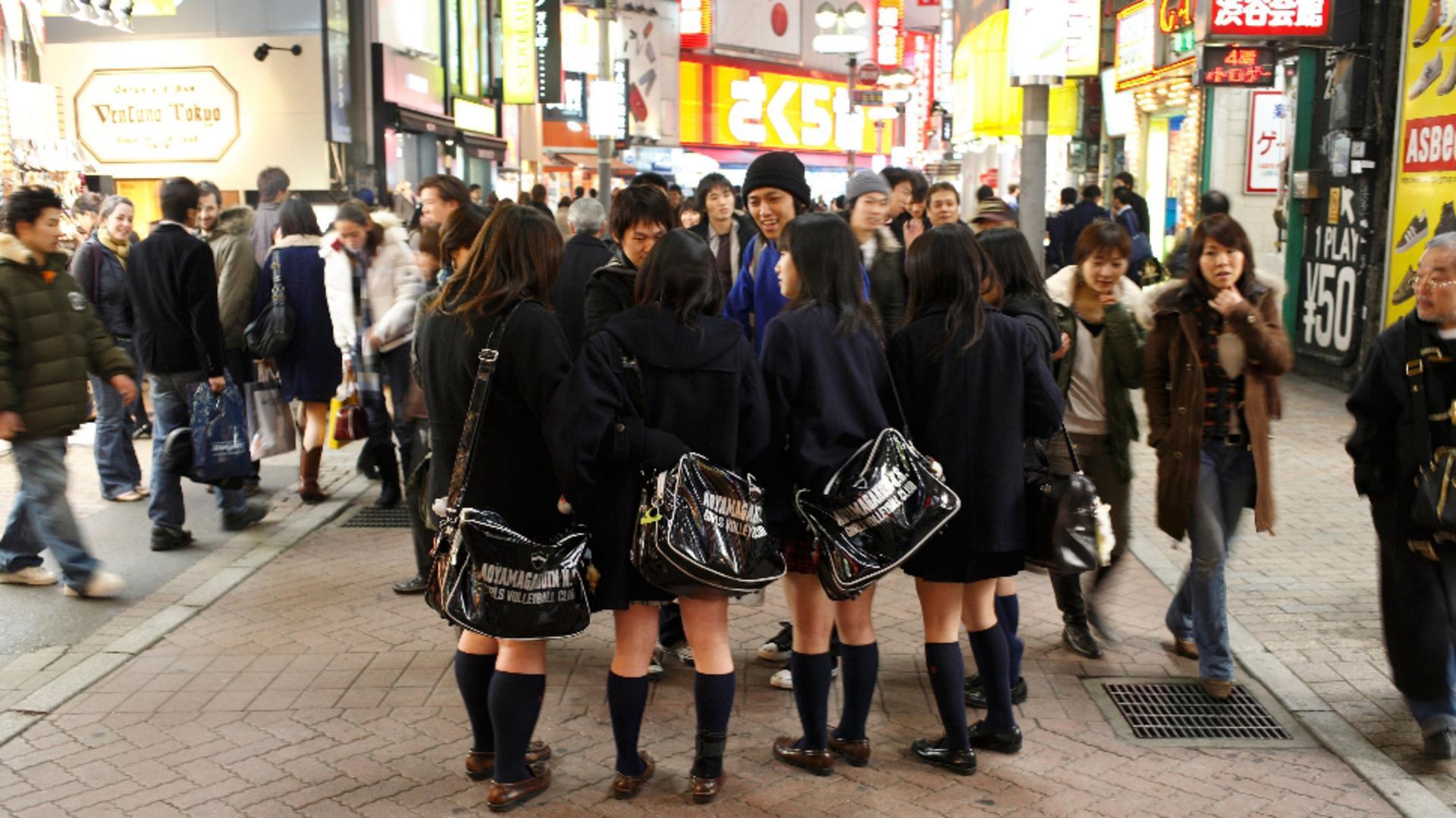 Record de sinucideri printre adolescenții din Japonia. Foto/Profimedia