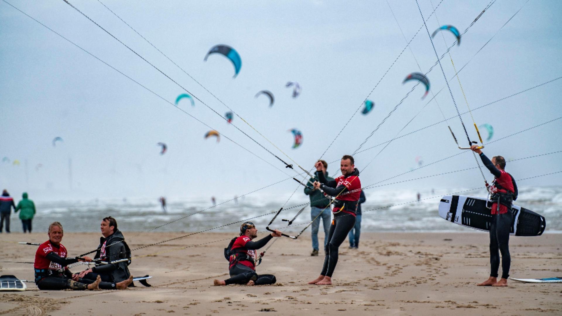 Vreme perfectă pentru pasionații de sporturi extreme. Foto/Profimedia