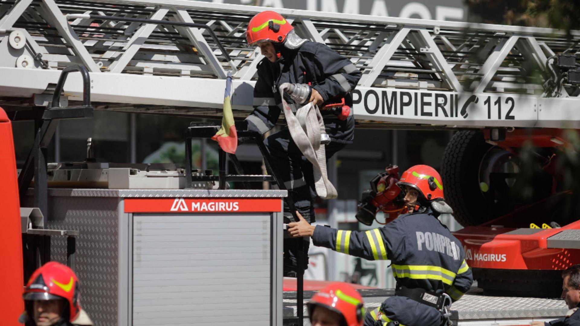 Pompierii vor verifica zilnic secțiile ATI din țară din 3 în 3 ore. FOTO: Profi Media